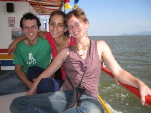 Taking the ferry from Granada to Altagracia, Ometepe