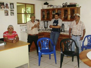 The Cooperativa Solidaridad also has a nice little cupping lab.
